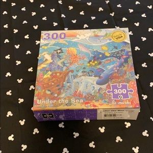 Other - SALE 5/$15 300 large piece puzzle! Under the sea!